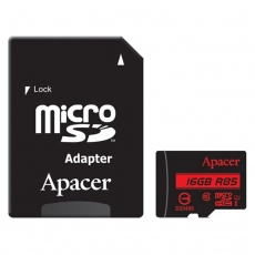 Apacer UHS-I U1 Class 10 85MBps microSDHC With Adapter 16GB