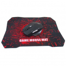 XP-W9 Wireless Gaming Mouse with pad