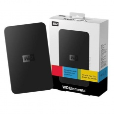 Western Digital Elements USB 2.0 Hard Drive External Box