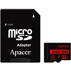 Apacer UHS-I U1 Class 10 85MBps microSDHC With Adapter 32GB